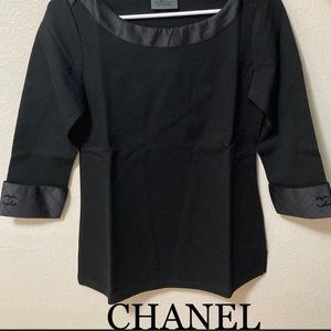 Chanel Uniform Shirt S